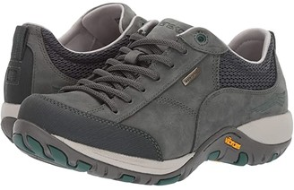 Dansko Paisley (Black Suede Waterproof) Women's Lace up casual Shoes