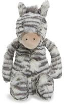Jellycat Infant Medium Bashful Zebra Stuffed Animal