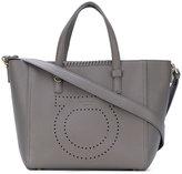 Salvatore Ferragamo perforated Gancio tote bag - women - Calf Leather - One Size