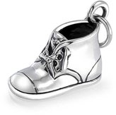 Bling Jewelry Baby Bootie Sterling Silver Baby Shoe Charm Pendant