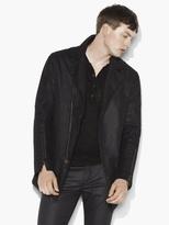 John Varvatos Asymmetric Zip Jacket