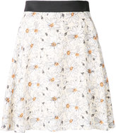 GUILD PRIME daisy print mini skirt - women - Polyester - 34