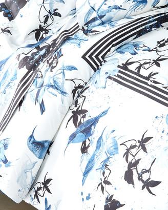 Roberto Cavalli Birds Ramage Queen Duvet Cover