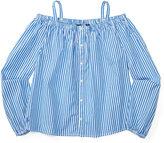 Ralph Lauren Cotton Off-the-Shoulder Shirt