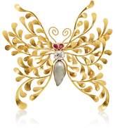 McTeigue & McClelland Women's Flora Butterfly Brooch
