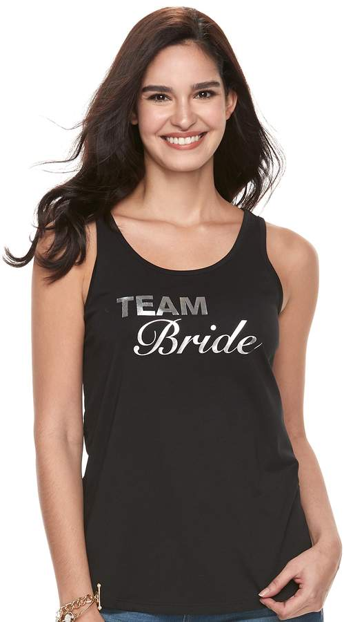 Juicy Couture Women's Team Bride Tank