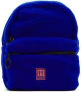 Off White Off-White Blue Sherpa Mini Backpack