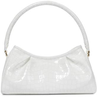 Elleme Dimple croc-effect leather shoulder bag