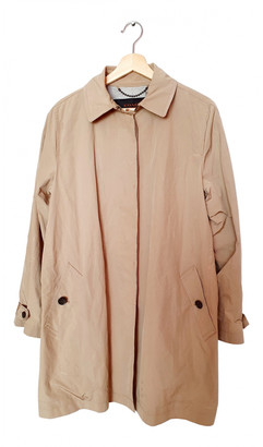 Coach Beige Polyester Coats