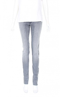 Acne Studios Grey Cotton Jeans for Women