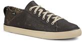 Sanuk Black Coated Canvas Staple TX Sneaker - Men