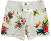 American Outfitters Floral Printed Cotton Sweat Shorts