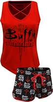 Briefly Stated Buffy The Vampire Slayer 20th Anniversary Pajama Set