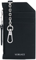 Versace keychain card holder - women - Calf Leather - One Size