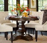 Pottery Barn Banks Extending Pedestal Dining Table