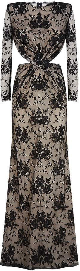 Alexander McQueen Twist Lace Gown