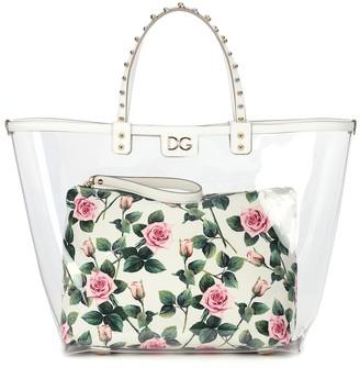 Dolce & Gabbana Beatrice PVC tote