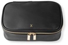 Cathy's Concepts Personalized Large Vegan Leather Travel Jewelry Case