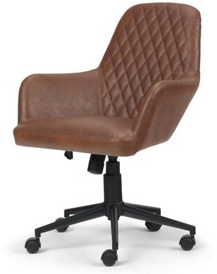Foundry Select Puentes Task Chair Upholstery Color: Distressed Cognac