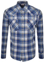 Levi's Levis Barstow Western Shirt Blue