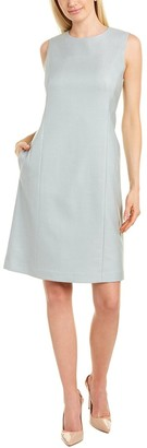 Lafayette 148 New York Suzanne Wool-Blend Sheath Dress