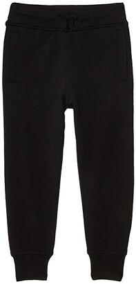 #4kids Essential Fleece Joggers (Little Kids/Big Kids) (Black) Kid's Clothing