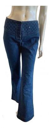 Chanel Blue Denim - Jeans Jeans for Women