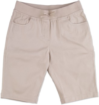Chaps Girls 4-16 & Plus School Uniform Pull-On Bermuda Shorts