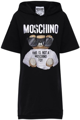 Moschino Hooded Jersey Dress