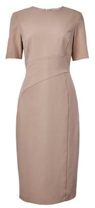 Dorothy Perkins Womens Dp Tall Cream Centre Seam Pencil Dress
