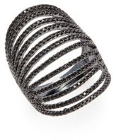 Noir Cubic Zirconia Layered Ring