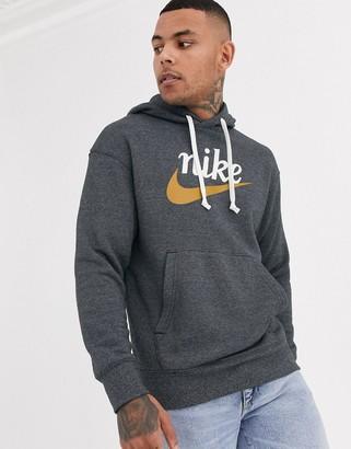 Nike Heritage hoodie in black