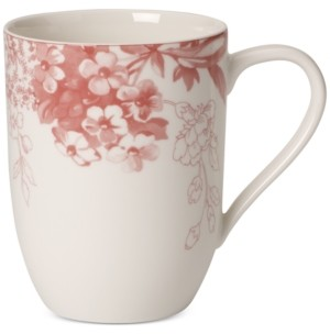 Villeroy & Boch Dinnerware Floreana Red Collection Porcelain Mug