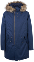 Pretty Green Kallerton Parka Jacket, Navy