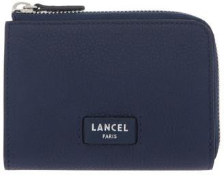 Lancel Ninon Zip-Top Wallet In Blue
