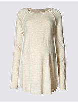 Marks and Spencer Maternity Feeding Knit Jumper