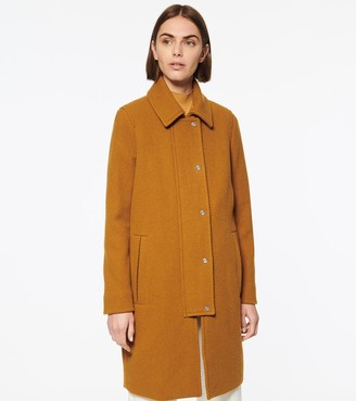 Andrew Marc SHILOH TWILL WOOL CAR COAT