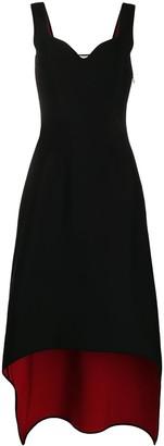 Alexander McQueen Asymmetric Mid-Length Dress