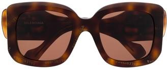 Balenciaga Eyewear Paris D-frame sunglasses