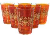 Found Object S/6 Souad Moroccan Glasses, Orange