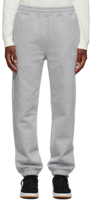 Stussy Grey Stock Logo Lounge Pants