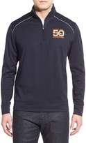 Cutter & Buck Men's Big & Tall 'Denver Broncos - Super Bowl 50' Weathertec Wind & Water Resistant Half Zip Pullover