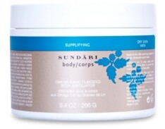 Sundari Omega 3 And Flaxseed Body Exfoliator