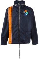Palm Angels badge anorak jacket - men - Polyamide/Polyester - 44