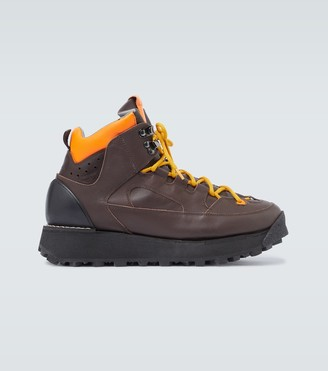 Acne Studios Bertrand leather hiking boots