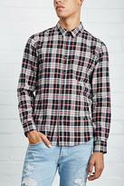 Forever 21 FOREVER 21+ Slim-Fit Flannel Shirt
