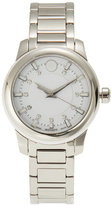 Movado 0606943 Silver-Tone & White Watch