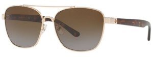 Tory Burch Polarized Sunglasses, TY6069 57