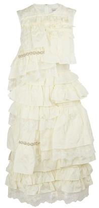 MONCLER GENIUS 4 Simone Rocha - Frilled dress