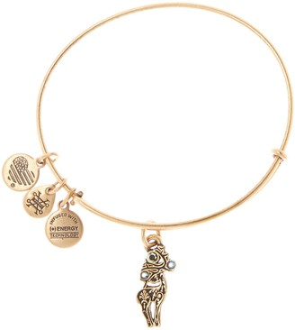 Alex and Ani Reindeer Expandable Wire Bangle Bracelet